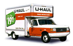 Rent U-Haul trucks at A-1 Rental Inc. in Rexburg ID and Idaho Falls ID